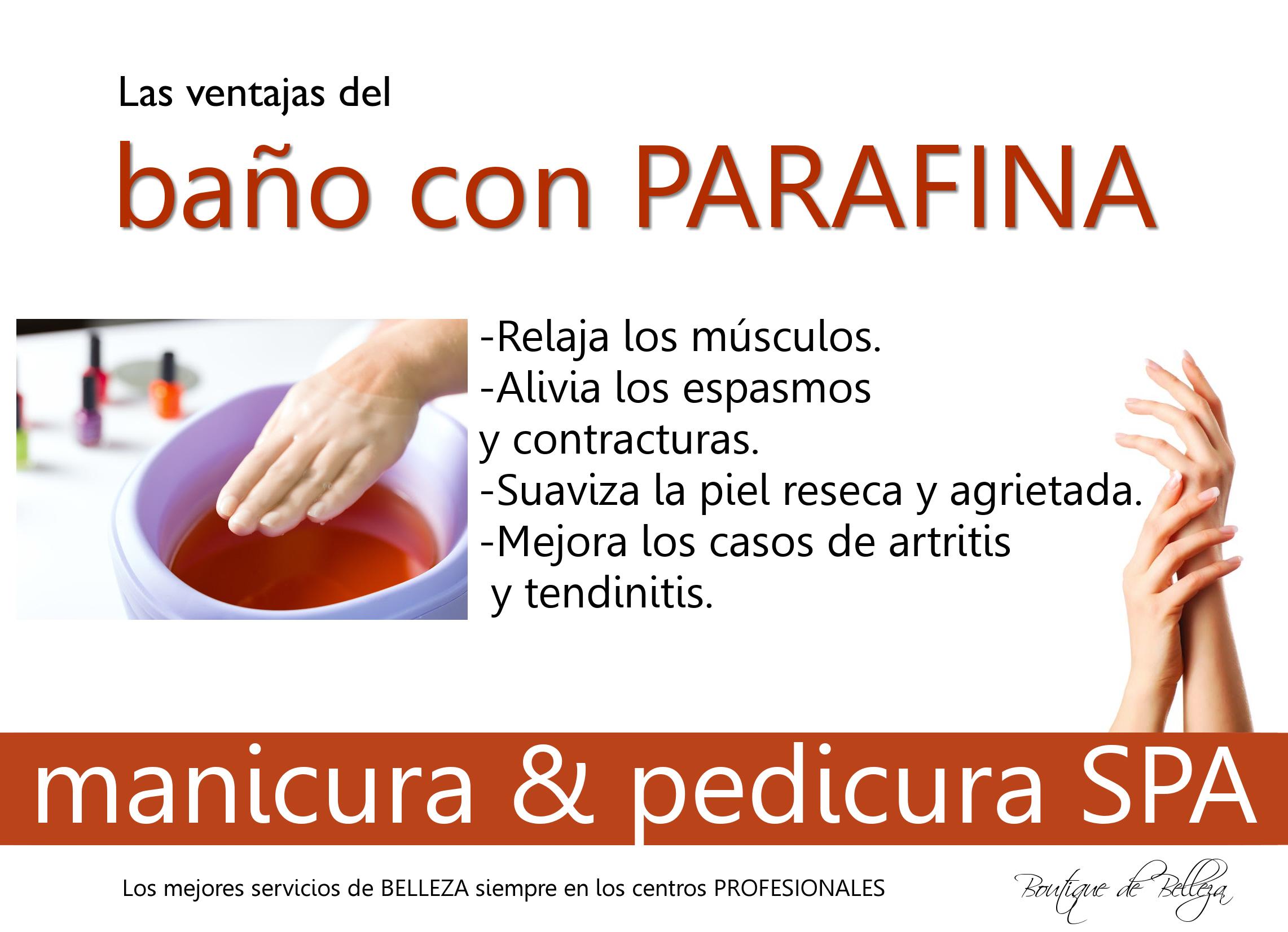 Proyectosdebelleza ba os de parafina - Bano parafina ...